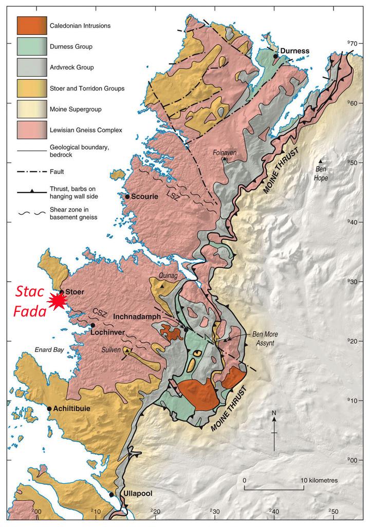 NW Scotland geol