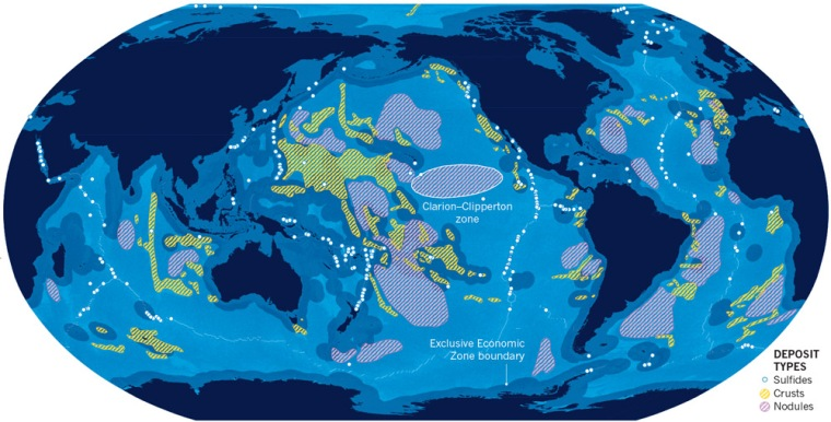 ocean floor resources